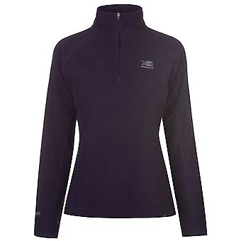 Karrimor Womens Ladies Microfleece Pullover Sportswear Activewear Top Warm