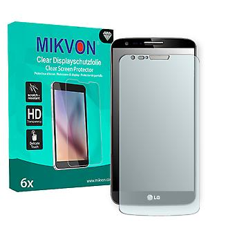 LG D803 G2 LTE Screen Protector - Mikvon Clear (Retail Package with accessories) (reduced foil)