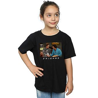 Friends Girls Ross and Chandler Handshake T-Shirt