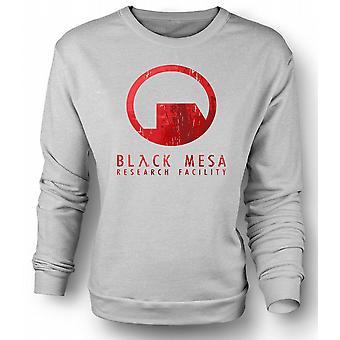 Mens Sweatshirt Black Mesa Research Facility BMRF - Gamer