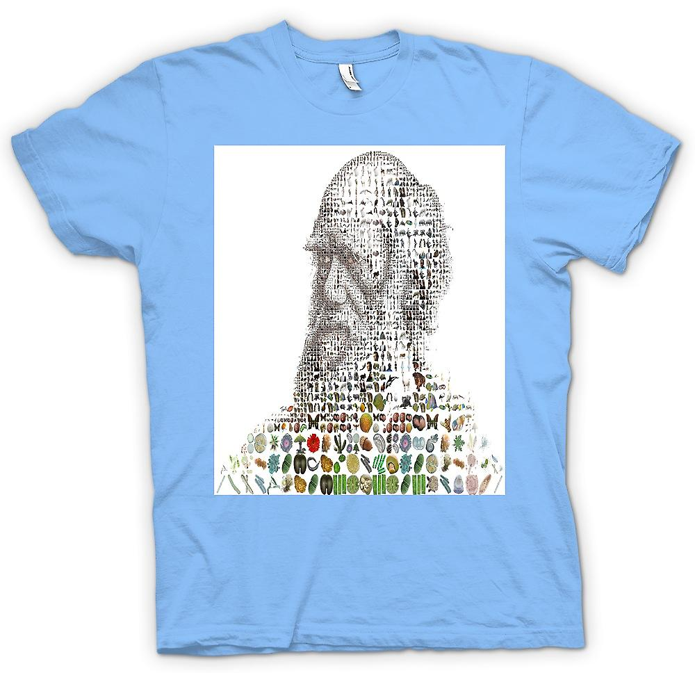 Heren T-shirt - Darwin evolutie - Cool Design