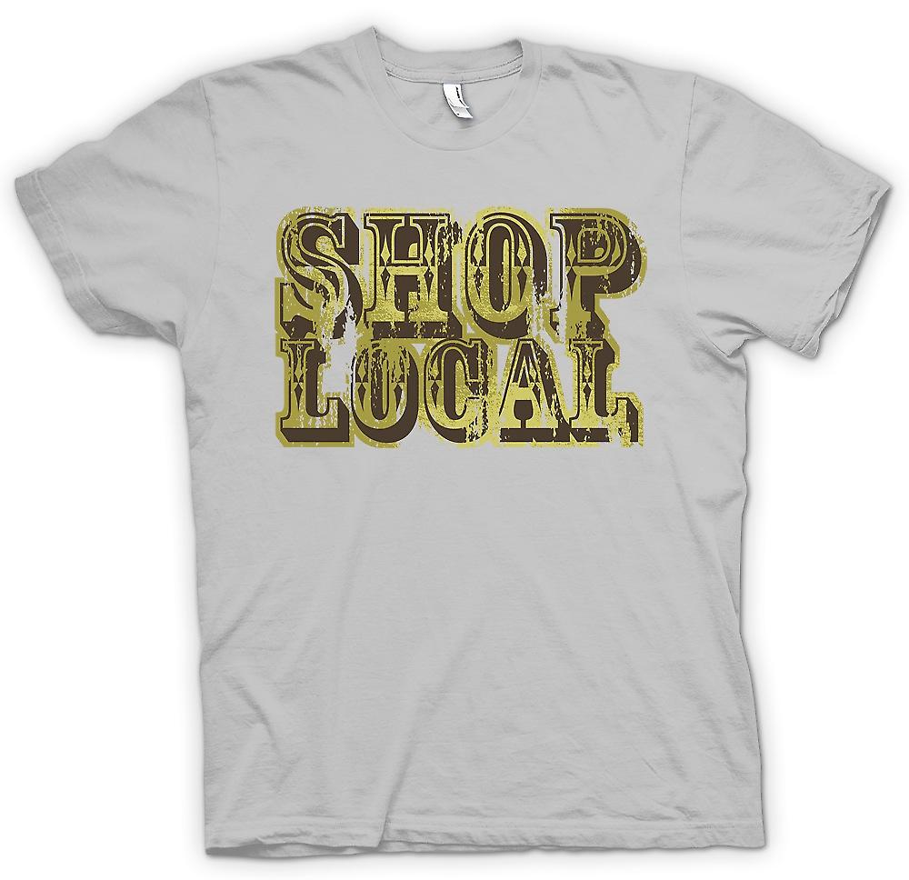 Mens t-skjorte - Shop Local - Funny
