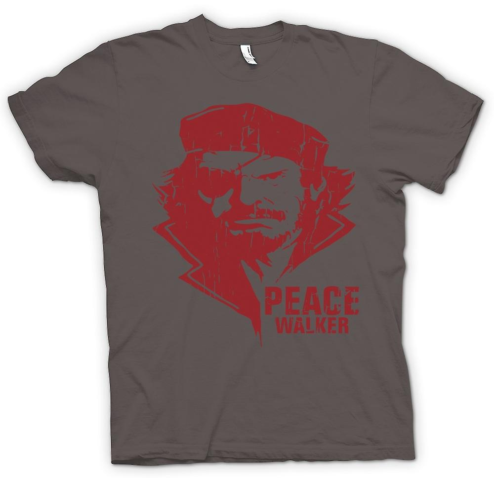 Herr T-shirt - Big Boss - Naked Snake - Gamer inspirerade