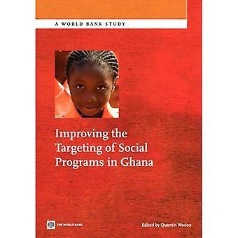 Improving the Targeting of Social Programs in Ghana
