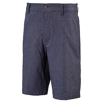 PUMA Heather pounce Jr kids woven shorts Peacoat