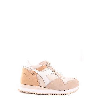 Diadora Beige Suede Sneakers