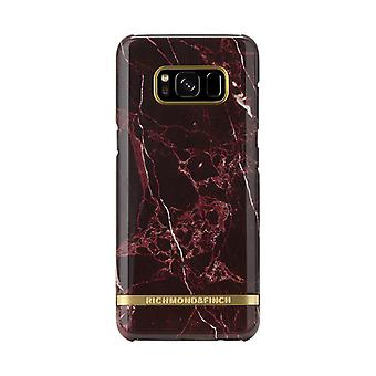 Richmond & Finch covers for Samsung Galaxy S8 Plus-Red Marble