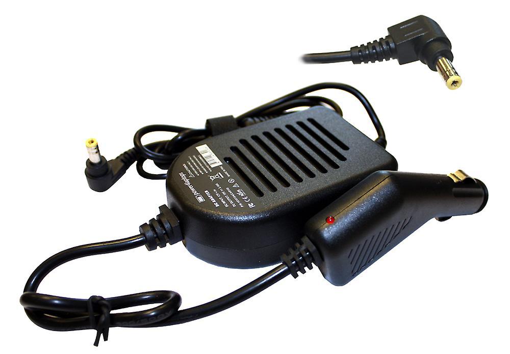 Fujitsu SiePour des hommes Amilo A1645 portable Compatible aliHommestation DC adaptateur chargeur de voiture