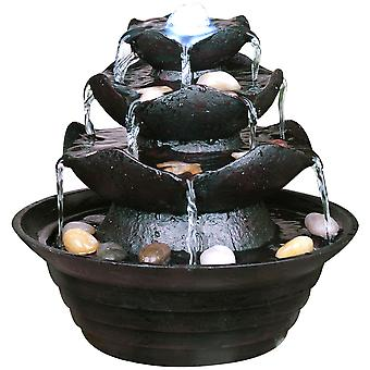 Watsons - Three Tier Indoor Trickle Fountain - Black