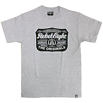 Rebel8 houblon T-shirt Athletic Heather