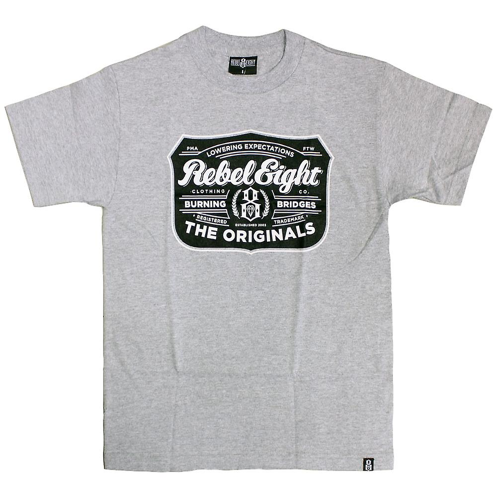 REBEL8 luppolo t-shirt Athletic Heather