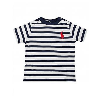Polo Ralph Lauren Childrenswear Ralph Lauren Striped Cotton Jersey Tee