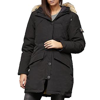 PENFIELD jacket of waterproof women's outdoor parka with real fur black Hosaac mountain