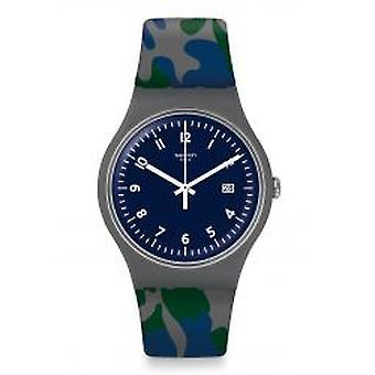 Swatch Camougreen Armbanduhr (SUOM400)