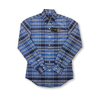 Ralph Lauren lim fit hirt in blue/navy check