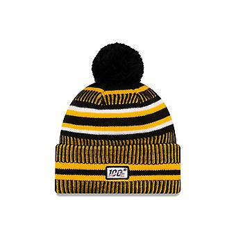 New Era Nfl Pittsburgh Steelers 2019 Sideline Home Sport Knit