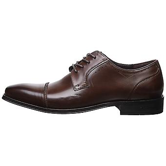Kenneth Cole REACTION Men's Swaizee Lace Up B Oxford Brown