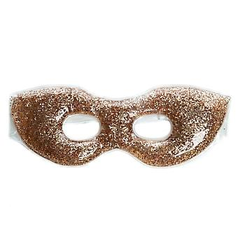 Danielle Gold Glitter Soothing Gel Eye Mask