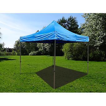 Vouwtent/Easy up tent FleXtents Easy up pavillon Basic v.2, 3x3m Blauw