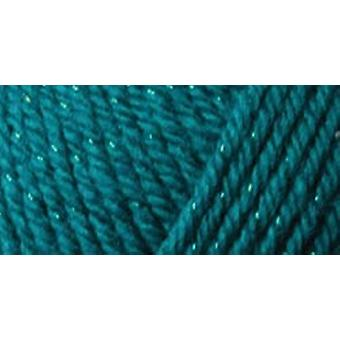 Simply Soft Party Yarn Teal Sparkle H97par 4