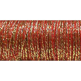 Kreinik Fine Metallic Braid #8 10 Meter 11 Yards Golden Piment F 5805
