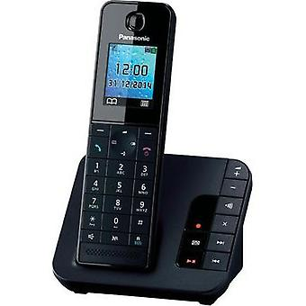 Cordless analogue Panasonic Answerphone Black