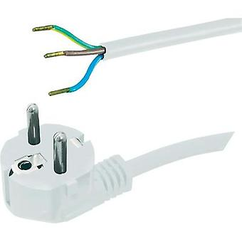 Current Cable [ PG plug - Cable, open-ended] White 5 m HAWA 1008227