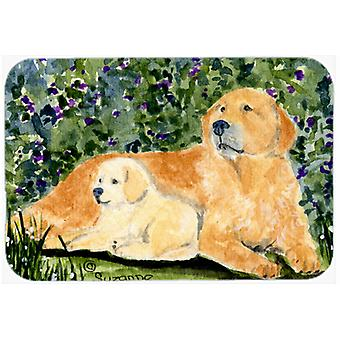 Golden Retriever keuken of Badmat 20 x 30