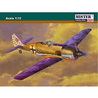 Mister Handwerk 1: 72 Focke Wulf Fw-190A-6 Grun Hertz