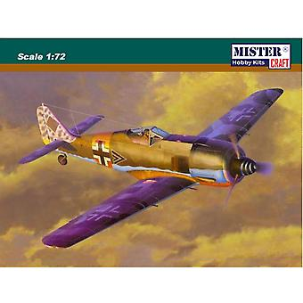 Mistercraft 1: 72 Focke Wulf Fw-190A-6 Grun Hertz