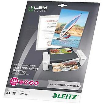 Laminate sheet Leitz DIN A4 125 micron glossy 25 pc(s)