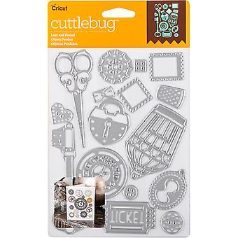 Cuttlebug Cut & Emboss Die-Lost And Found, 16/Pkg 2003469
