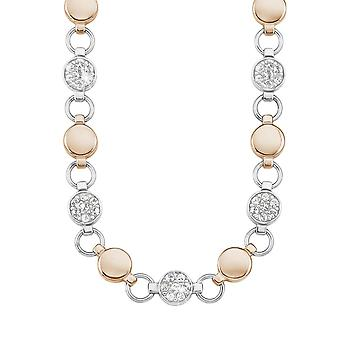 s.Oliver jewel ladies necklace stainless steel bicolor SO1435/1 - 9239436