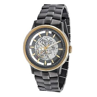 Kenneth Cole New York Men's KC9177 Auto Yellow Gold Bezel Automatic Watch