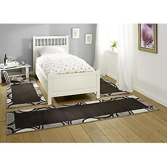 Design bed surround Bacara | dark brown/grey/cream 3teilig