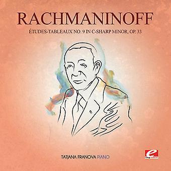 Rachmaninow - Etudes-Tableaux 9 w CIS-Min 33 USA import