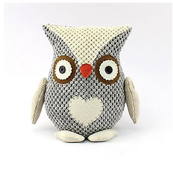 Doorstop Grey Owl Home Décor Gift Door wedge Block