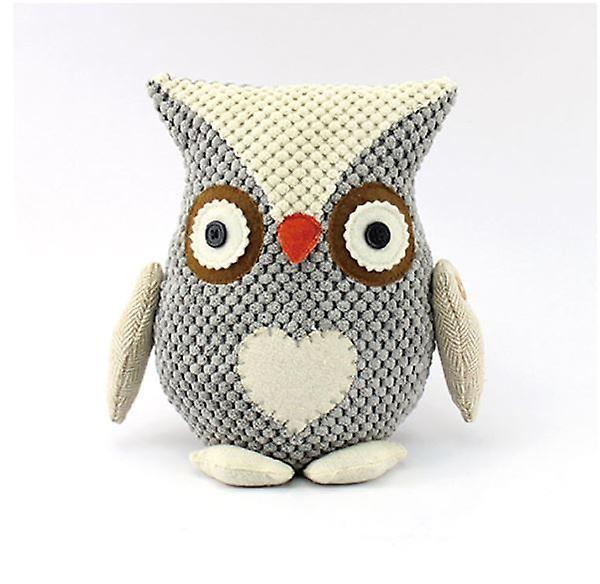 Doorstop Grey Owl Home Décor Gift Door wedge Block