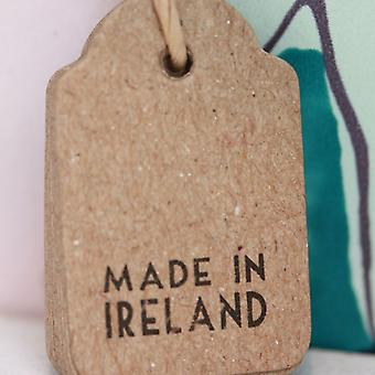 Øst for Indien Vintage stil i Irland Tags brun Mini x 10