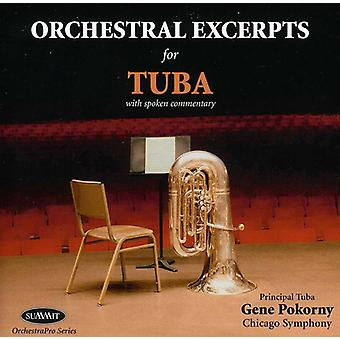 Genet Pokorny - orkestral uddrag for Tuba [CD] USA import