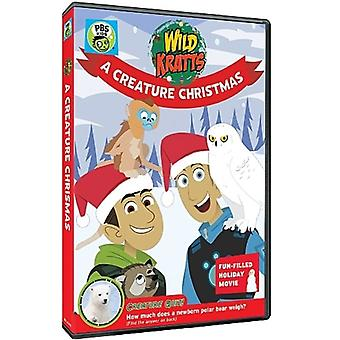 Wild Kratts: Wild Kratts - importar de Estados Unidos de una criatura de Navidad [DVD]
