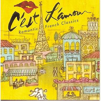 C'Est L'Amour! -Romantiska franska klassiker [CD] USA import