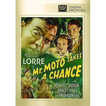 Mr Moto Takes a Chance [DVD] USA import