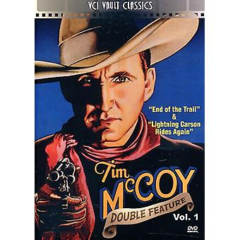 Tim McCoy: Vestlige Double Feature bind 1 [DVD] USA importerer