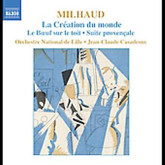 D. Mulhaud - Milhaud: La Cr Ation Du Monde; Le Boeuf Sur Le Toit; Suite Proven Ale [CD] USA import
