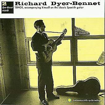 Richard Dyer-Bennet - Dyer-Bennet No. 2 [CD] USA import