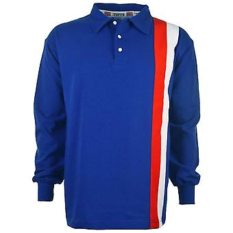 Escape to Victory Sly Stallone Blue Retro Football Shirt