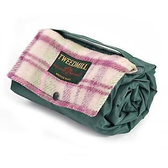 Tweedmill Walker Companion Fleece Picnic Rug - Cottage Pink