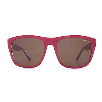 Levis Square Sunglasses In Red