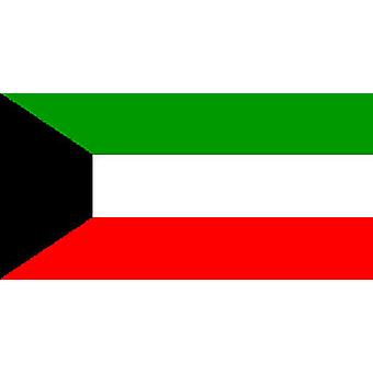 Kuwait Flag 5ft x 3ft With Eyelets For Hanging